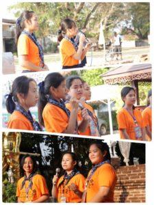 มัคคุเทศก์เมืองบางยาง โรงเรียนนครไทย โดยสมาชิกผู้บำเพ็ญประโยชน์ ให้ข้อมูลประวัติศาสตร์