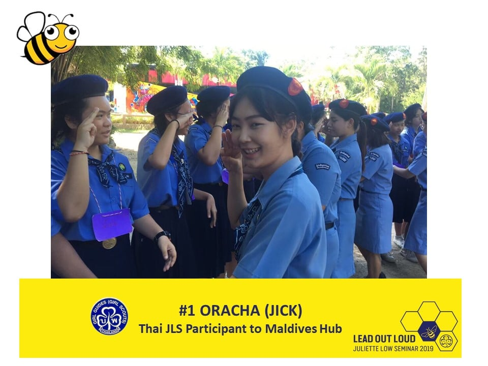 15 Thai partcipants are ready to challenge themselves, speak out, learn, and #LeadOutLoud.