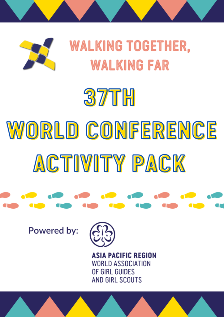 Walking together , walking far 37 th  World conference activity pack